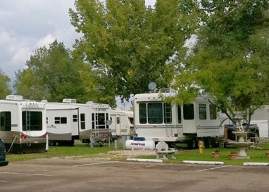 We Have Gravel And Concrete Sites All Of Our RV Are Full Hook Up With 30 50 Amp Electric Sewer Water A Variety Sizes
